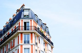 Immeuble Haussmannien, typique, parisien