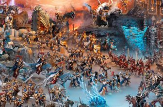 Armée Age of Sigmar du jeu de plateau Warhammer